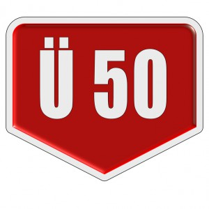 Marker rot Ü 50
